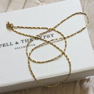 ⭐️ Spell & The Gypsy Zodiac Necklace CHAIN ONLY ⭐️